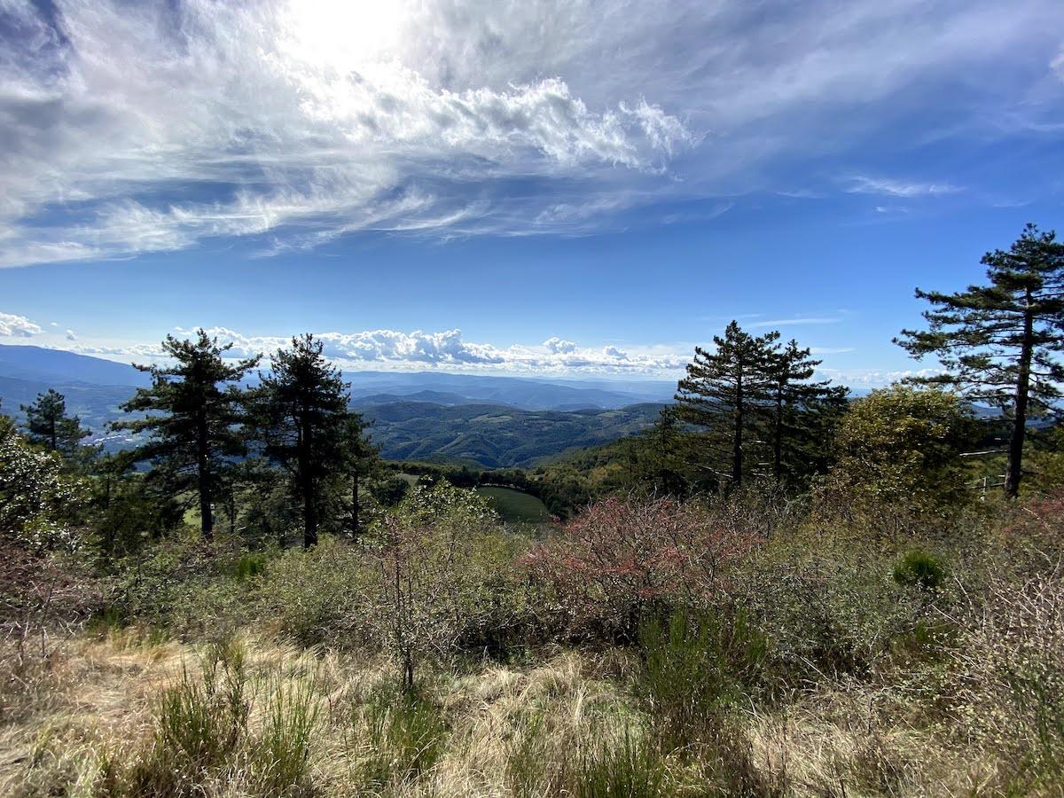 Panorama da Monte Giovi