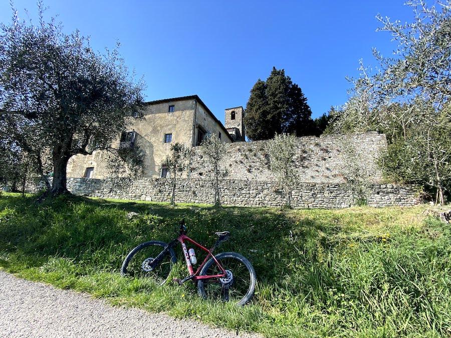 La bellissima Pieve di San Lorenzo a Miransù