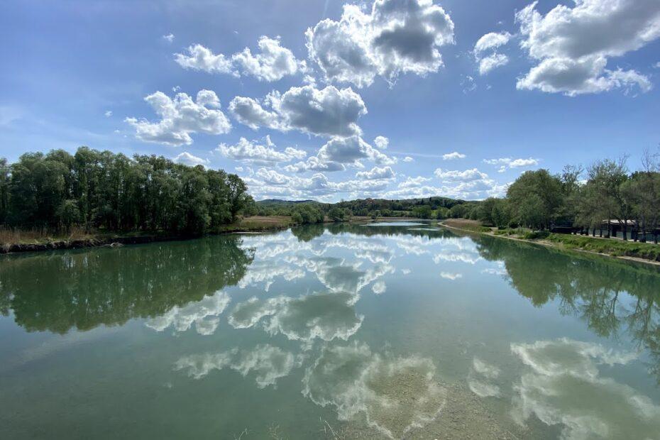 L'Arno presso Ponte a Buriano
